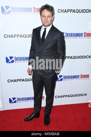 Beverly Hills, CA, USA. 28th Mar, 2018. 28 March 2018 - Beverly Hills, California - Jason Clarke. ''Chappaquiddick'' Los Angeles Angeles premiere held at The Samuel Goldwyn Theater. Photo Credit: Birdie Thompson/AdMedia Credit: Birdie Thompson/AdMedia/ZUMA Wire/Alamy Live News - Stock Photo