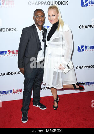 Beverly Hills, CA, USA. 28th Mar, 2018. 28 March 2018 - Beverly Hills, California - Tommy Davidson. ''Chappaquiddick'' Los Angeles Angeles premiere held at The Samuel Goldwyn Theater. Photo Credit: Birdie Thompson/AdMedia Credit: Birdie Thompson/AdMedia/ZUMA Wire/Alamy Live News - Stock Photo