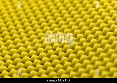 Close up detail of yellow skid mat - Stock Photo