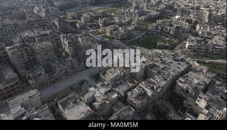 the city of Homs in Syria - Stock Photo