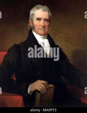 Chief Justice John Marshall (1801-1835) - Stock Photo