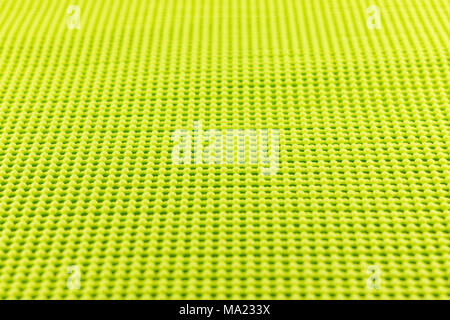 detail of yellow textured non skid mat - Stock Photo