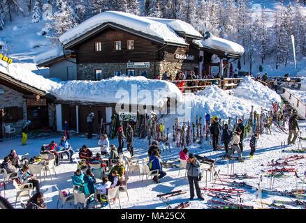 Pila Aosta Valley Italy Stock Photo 167271658 Alamy