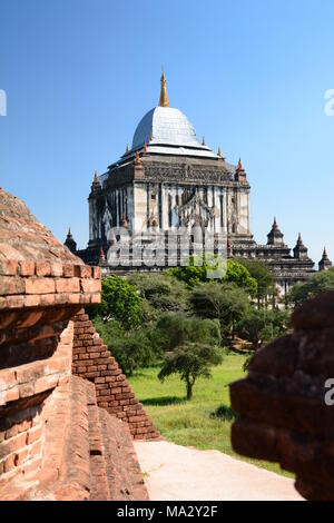 Thatbyinnyu temple. Bagan. Mandalay region. Myanmar - Stock Photo