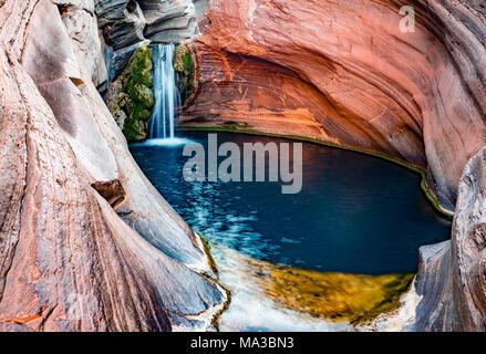 Hamersley Gorge, Spa Pool, Karijini National Park, North West, Western Australia