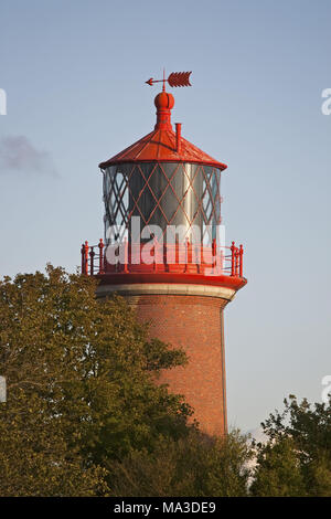 Lighthouse Staberhuk, island Fehmarn, Schleswig - Holstein, North Germany, Germany, - Stock Photo