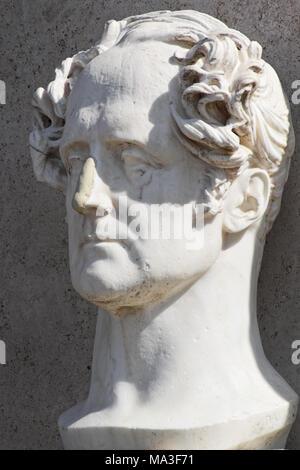 François-René de Chateaubriand - Rome - Stock Photo