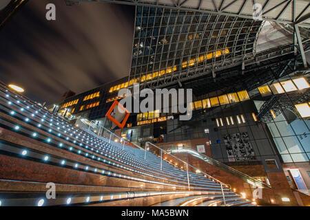 Asia, Japan, Nihon, Nippon, Kyoto, Kyoto Station - Stock Photo