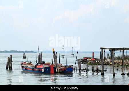 Fisher boats, Murano - Stock Photo