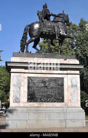 MONUMENT OF PETER THE GREAT IN ST.PETERSBURG - Stock Photo
