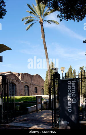 Museo Nazionale Romano, Terme di Diocleziano - National Roman Museum, The Baths of Diocletian - Stock Photo