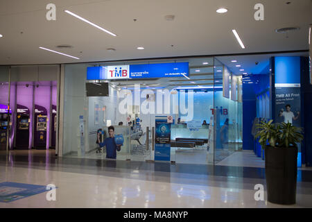 CHIANG MAI, THAILAND -MARCH 30 2018:  TMB Bank Public Company Limited shop Inside of Central Festival Chiangmai. - Stock Photo
