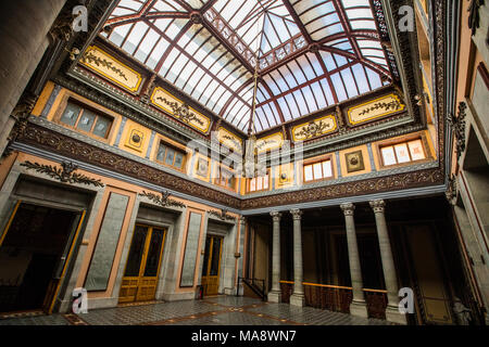 Inside historic Teatro Juarez, Zona Central, Guanajuato, Mexico - Stock Photo