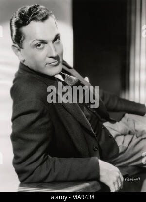 Kent Taylor, Publicity Portrait for the Film, 'I'm No Angel', Paramount Pictures, 1933 - Stock Photo