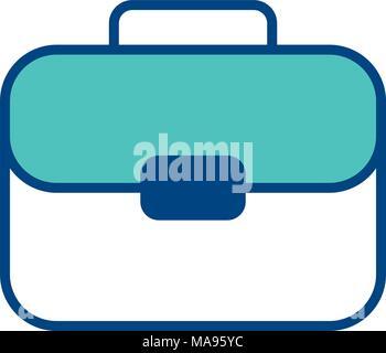 portfolio business suitcase documents image - Stock Photo