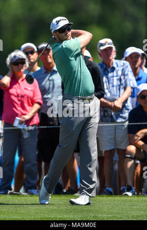 Humble, Texas, USA. 30th Mar, 2018. Chris Stroud in action during the Houston Open at the Golf Club of Houston in Humble, Texas. Chris Brown/CSM/Alamy Live News