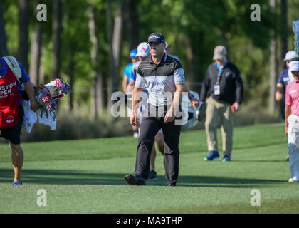 Humble, Texas, USA. 30th Mar, 2018. Ryan Armour (USA) heads down 8 during Round 2 of the Houston Open on March 30, 2018 at Golf Club of Houston in Humble, Texas. Credit: Action Plus Sports/Alamy Live News