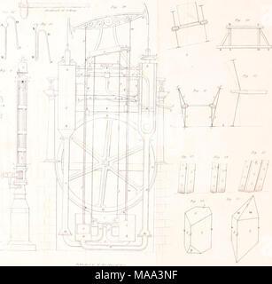 . The Edinburgh journal of science. v. 1-10, July 1824-Apr. 1829; new ser., v. 1-6, July 1829-Apr. 1832 . - Stock Photo