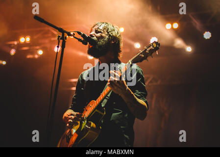 August 27th, 2017: The American indie group Band of Horses performing live on stage at the TODays festival 2017 in Torino. Photo: Alessandro Bosio/Ala - Stock Photo