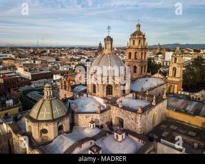 San Agustin Church, Templo de San Agustín, San Luis Potosi, Mexico - Stock Photo