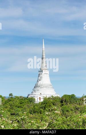 Phra That Chom Phet stupa, Phra Nakhon Khiri historical park, Phetchaburi, Thailand - Stock Photo