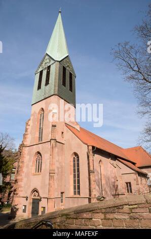 Peterskirche, Heidelberg, Baden-Württemberg, Deutschland - Stock Photo