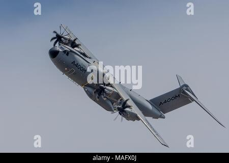 Airbus A400M Atlas Military Transport Fairford 2015 - Stock Photo