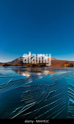 Frozen Reflections of the Cuillin Ridge, Isle of Skye