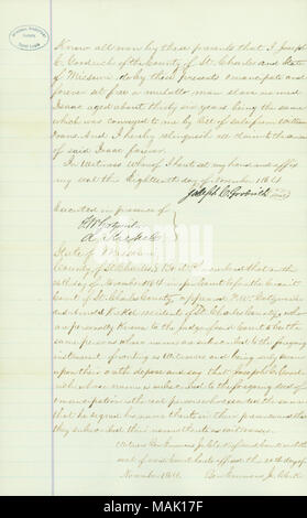 Title: Certificate from the State of Missouri stating that
