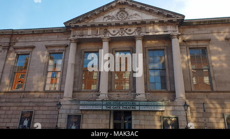 The Gate Theatre in Dublin - DUBLIN / IRELAND - MARCH 20, 2018 - Stock Photo