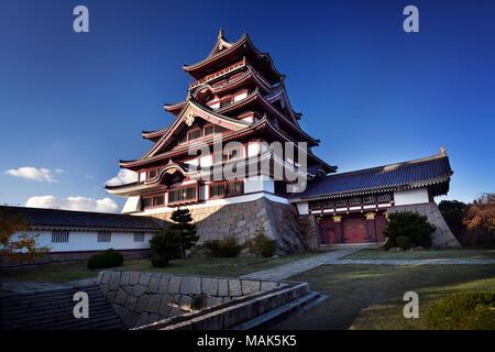 Fushimi-Momoyama or Fushimi Castle, Fushimi-jo, Azuchi–Momoyama period Japanese castle in Fushimi-ku ward, Kyoto, Japan 2017 - Stock Photo