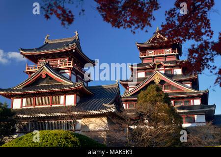 Fushimi-Momoyama historic Japanese castle of Azuchi–Momoyama period in Fushimi-ku ward, Kyoto, Japan 2017 - Stock Photo