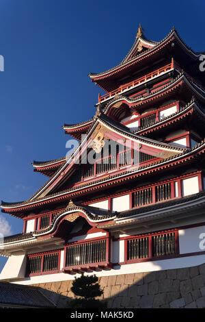 Fushimi Castle, Fushimi-jo in Fushimi-ku ward, Kyoto, Japan - Stock Photo