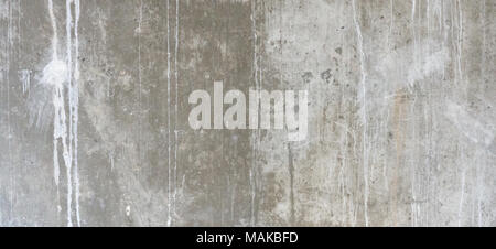 Plastered cement concrete wall background texture - Stock Photo