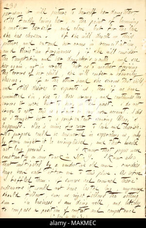 Includes the letter Alfred Waud wrote to Mrs  Jewell, explaining how