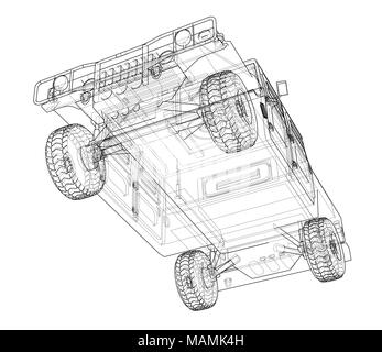 Combat car blueprint 3d illustration wire frame style stock photo wire frame style combat car blueprint 3d illustration wire frame style stock photo malvernweather Image collections