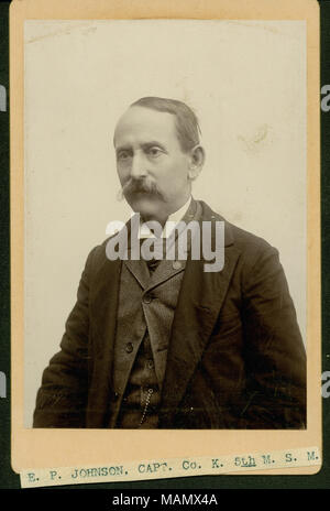 E  P  Johnson (Union veteran Stock Photo: 162784801 - Alamy