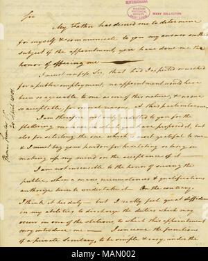 Letter from Thomas Sumter, Stateburgh, to Thomas Jefferson, April 17