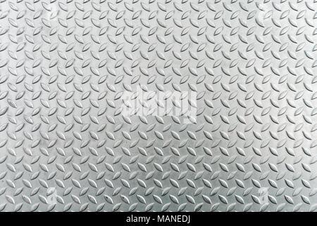 Steel checkerplate metal sheet, Metal sheet texture background. - Stock Photo