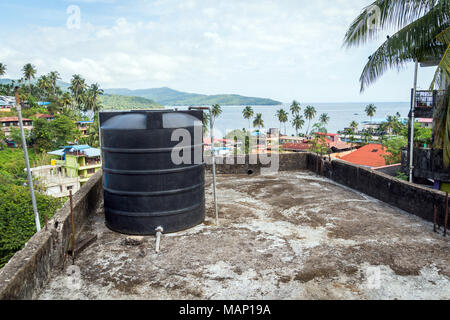 Concrete Water Storage Tank With Pump And Hoses Victoria