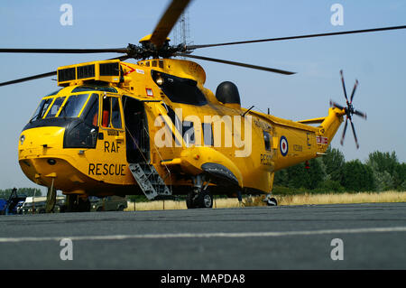 Westland WS-61 Sea King, RAF Search and Rescue, - Stock Photo