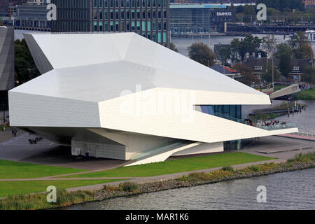EYE Film Museum, North District, Amsterdam, North Holland, Netherlands, Europe - Stock Photo