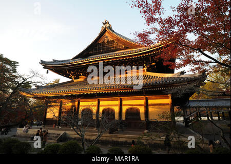 Nanzenji Temple, the head temple within the Rinzai sect of Japanese Zen Buddhism, Kyoto, Japan, Asia - Stock Photo