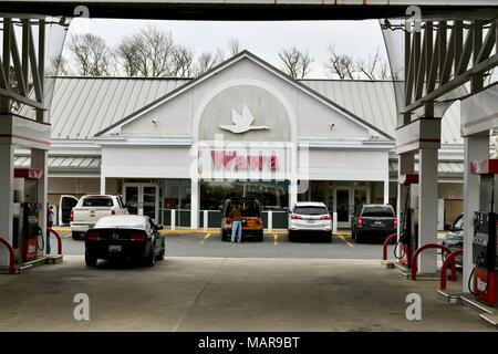 WAWA convenience store in Ocean City, Maryland, USA - Stock Photo