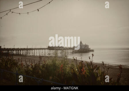 Eastbourne pleasure pier, East Sussex, England, Uk - Stock Photo
