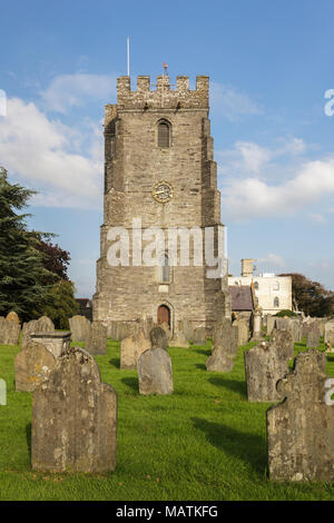 St. Mary's Church, Aberteifi, Cardigan - Stock Photo
