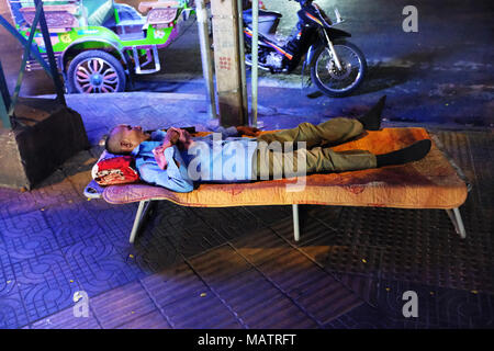 Having a well earned rest - Stock Photo