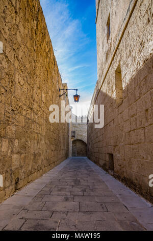 TOWN OF MDINA, MALTA - Stock Photo