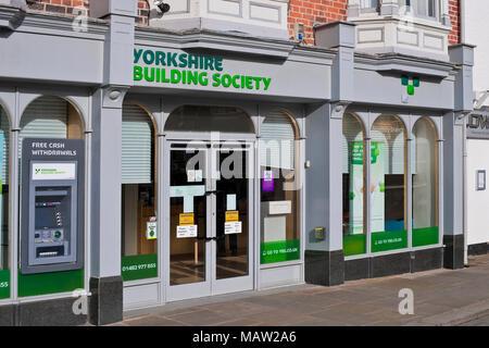 Yorkshire Building Society Branch Beverley East Yorkshire England UK United Kingdom GB Great Britain - Stock Photo
