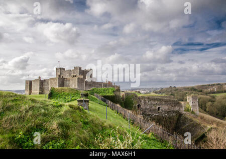 Dover castle - Stock Photo